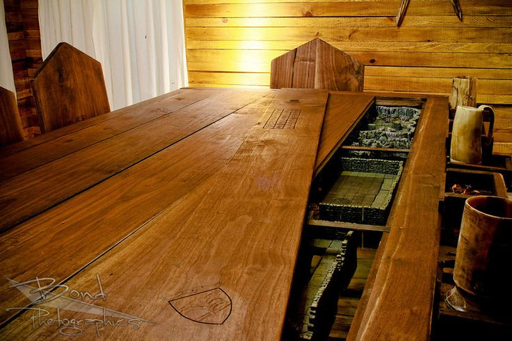 Build a Custom Gaming Table