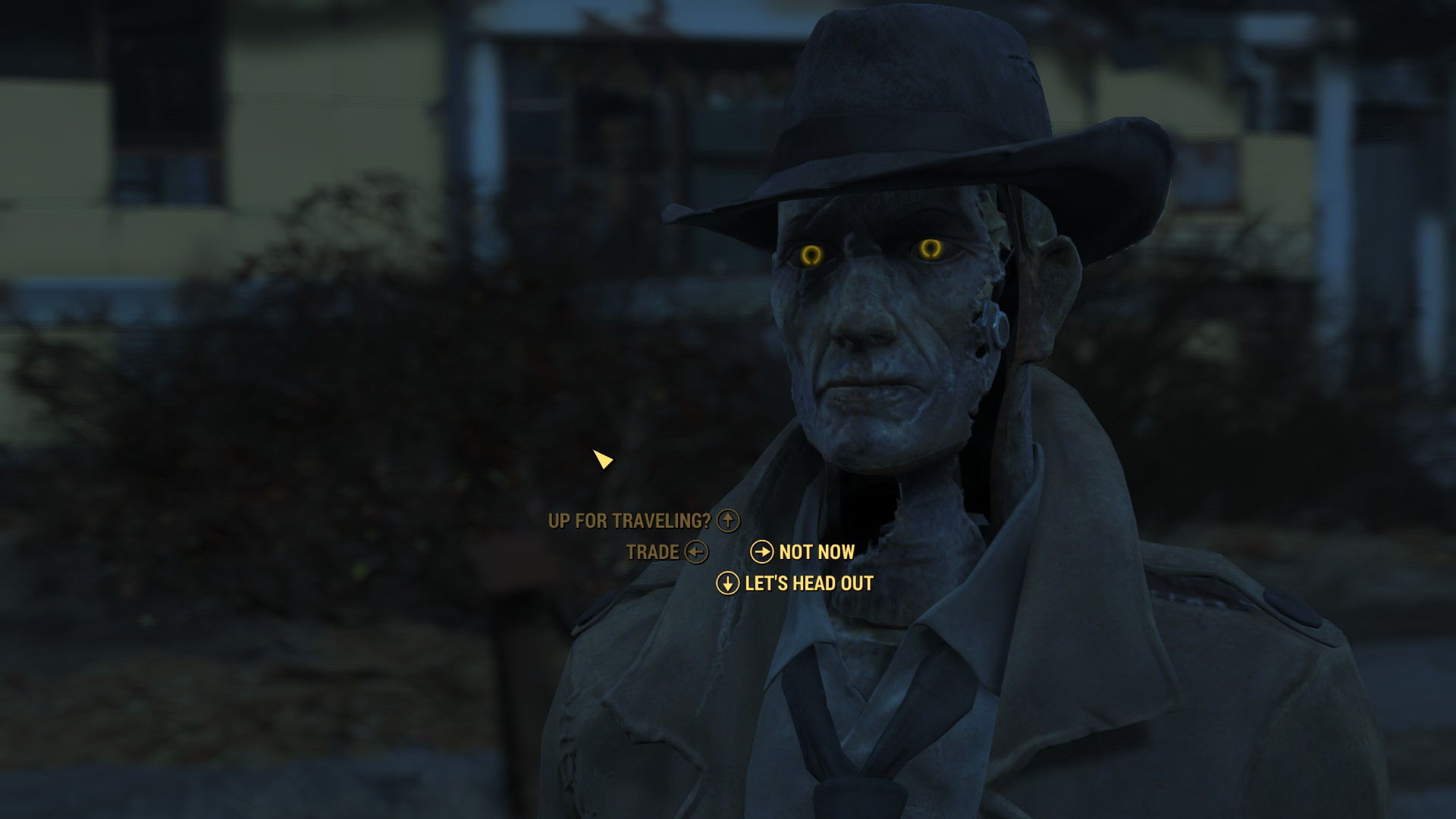 fallout 4 nick valentine likes and dislikes in a relationship
