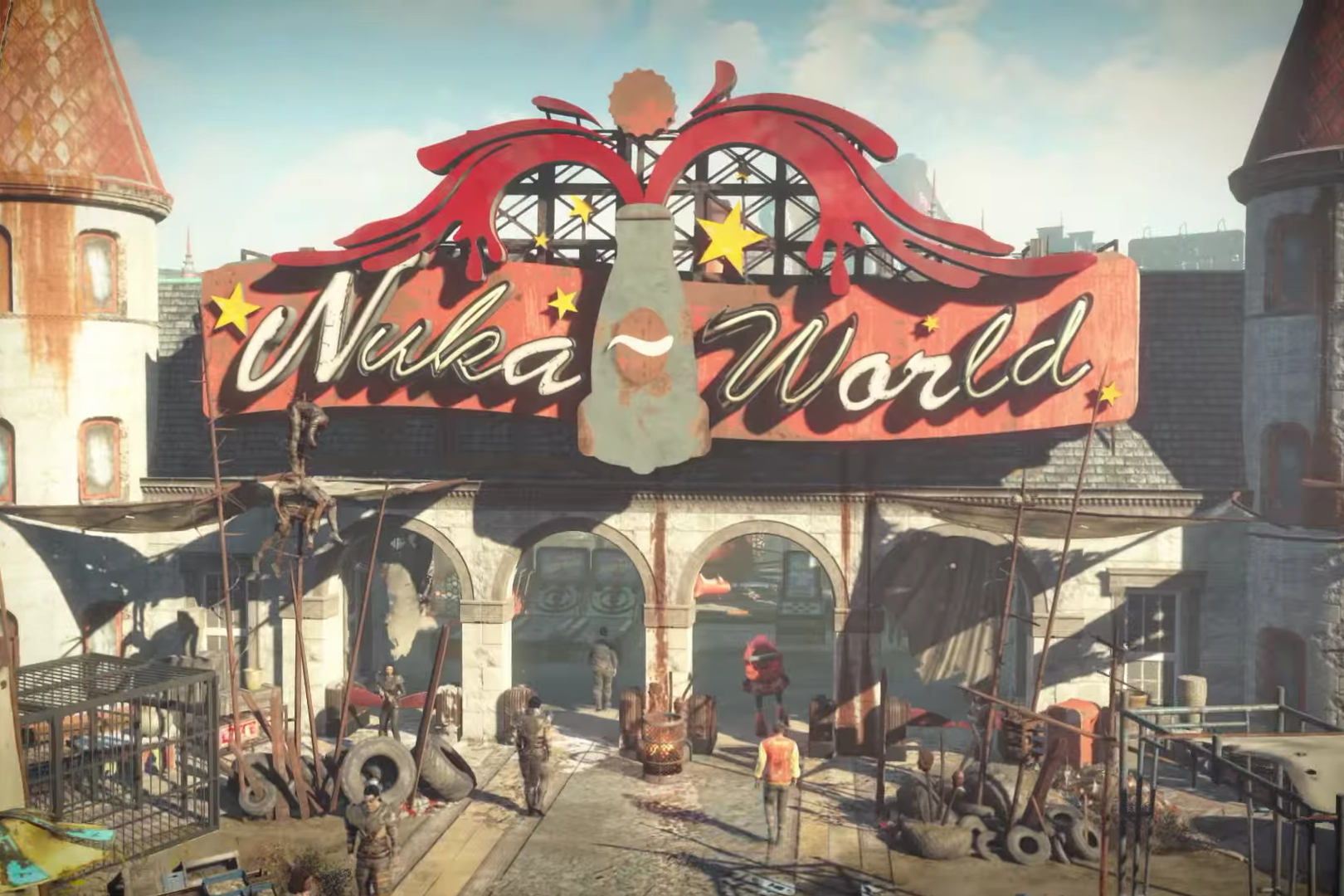 Fallout 4 season pass hindsight igeekout net for Fallout 4 mural