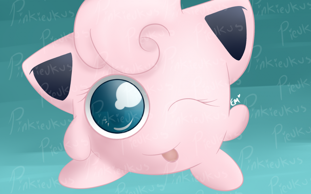 Poofy Haired Jigglypuff