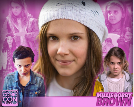 Millie Bobby Brown SLCC16 Panel still 1
