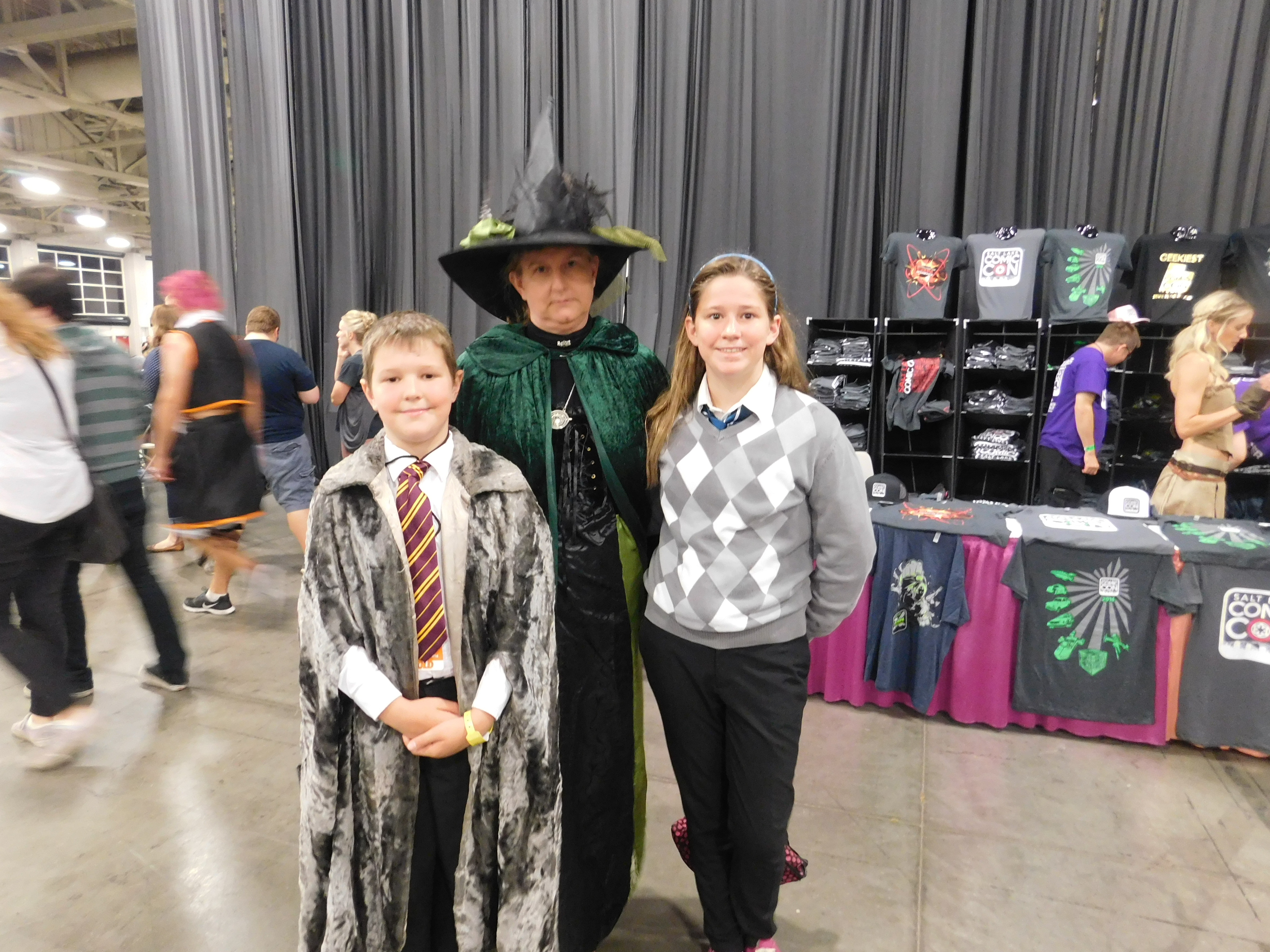SLCCd3.007 - Prof. McGonagall escorting some new students.
