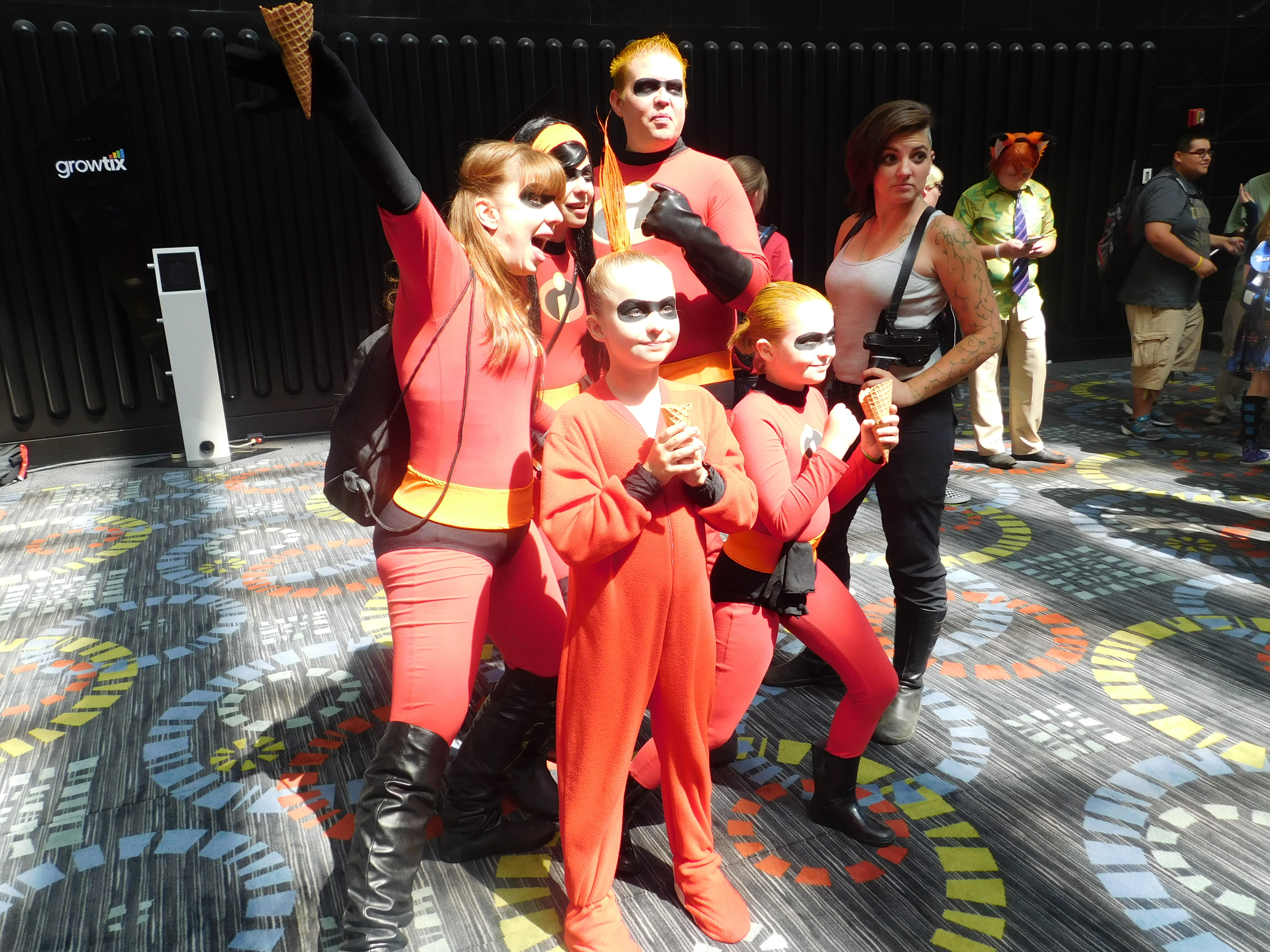SLCCd3.027 - Looks like the Incredibles have a new member of the team.