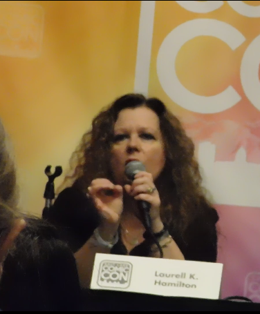 Spotlight on Laurell K. Hamilton SLCC16 Panel still 3 - If you are going to research painful topics, go to the experts. Educate yourself.