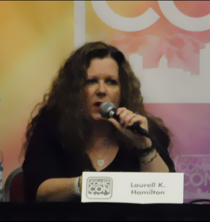 Spotlight on Laurell K. Hamilton SLCC16 Panel still 4 - Research both history and biology, biology is stranger than any fiction than we can come up with.