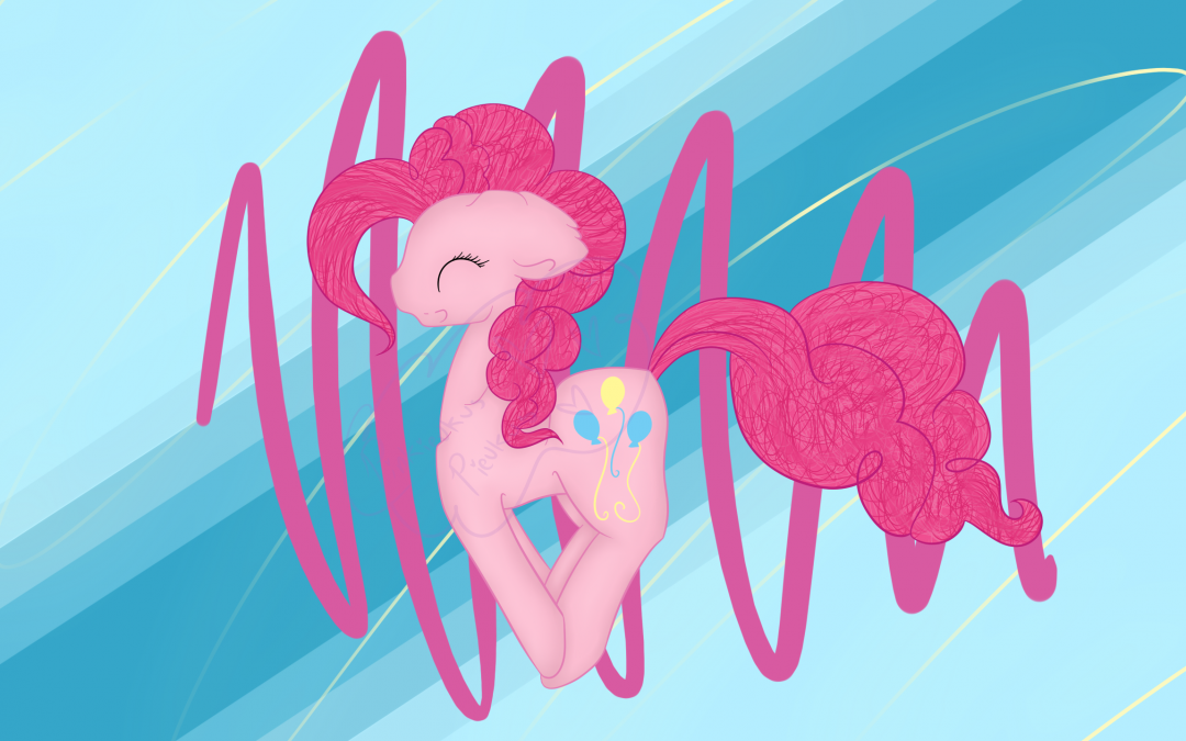 Pinkie Jumping for Joy