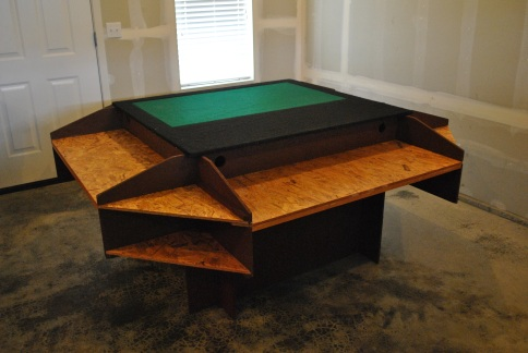 How To Build Tabletop Gaming Table