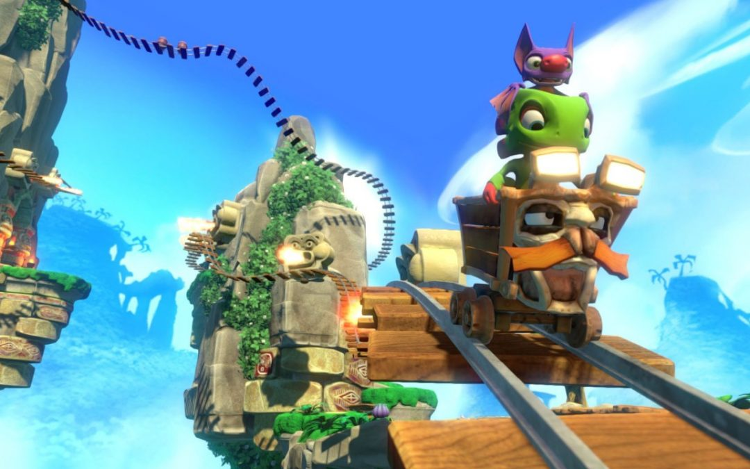 Our First Real Look At Yooka-Laylee